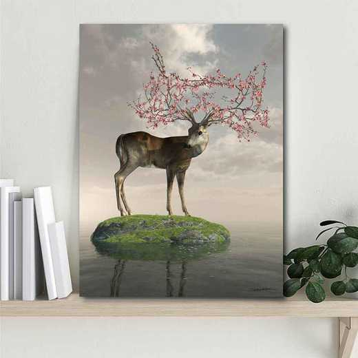 The Guardian of Spring  Gallery-Wrapped Canvas Wall Art
