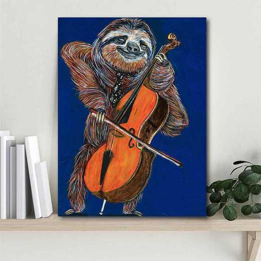 Slow Yo Ma  Gallery-Wrapped Canvas Wall Art
