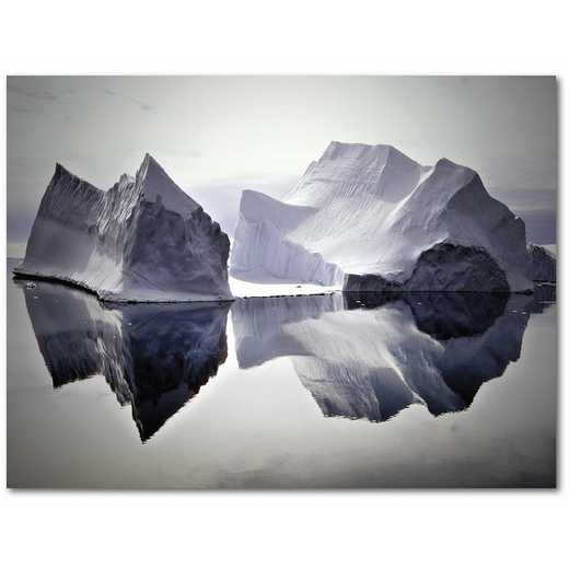 "Iceberg Reflections 16""x20"" Gallery-Wrapped Canvas Wall Art"