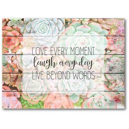 "Live Beyond Words 16""x20"" Gallery-Wrapped Canvas Wall Art"