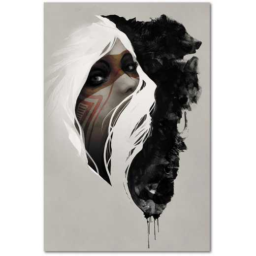 Totem  Gallery-Wrapped Canvas Wall Art