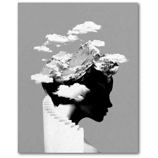 It's a Cloudy Day  Gallery-Wrapped Canvas Wall Art