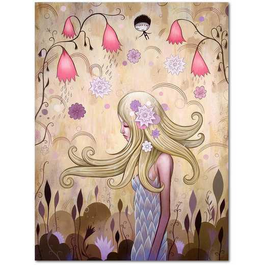 Garden of Sleeping Flowers II  Gallery-Wrapped Canvas Wall Art
