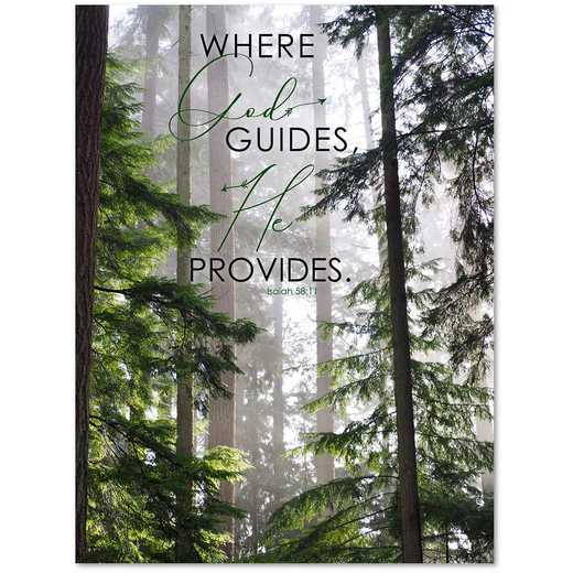 Where He Guides  Gallery-Wrapped Canvas Wall Art