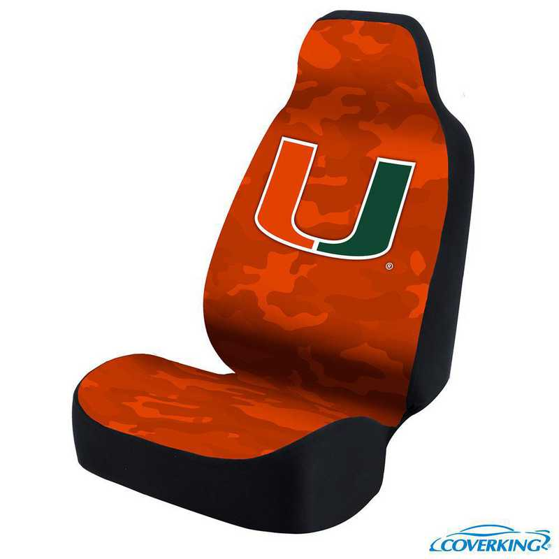 USCSELA118: Universal Seat Cover for University of Miami