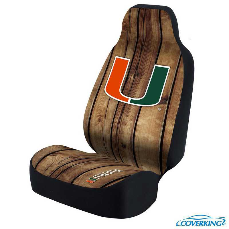USCSELA119: Universal Seat Cover for University of Miami
