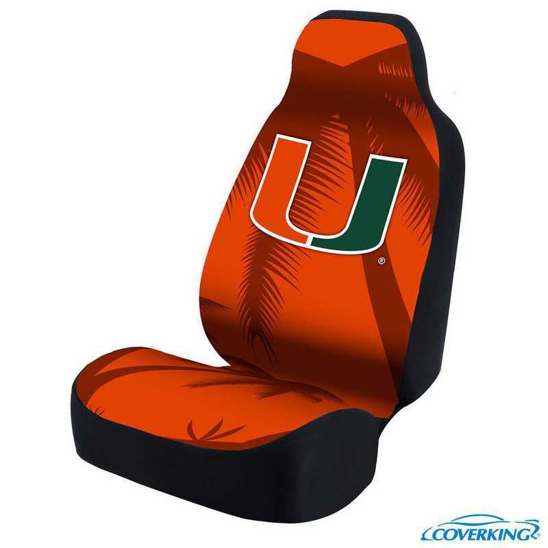 USCSELA123: Universal Seat Cover for University of Miami