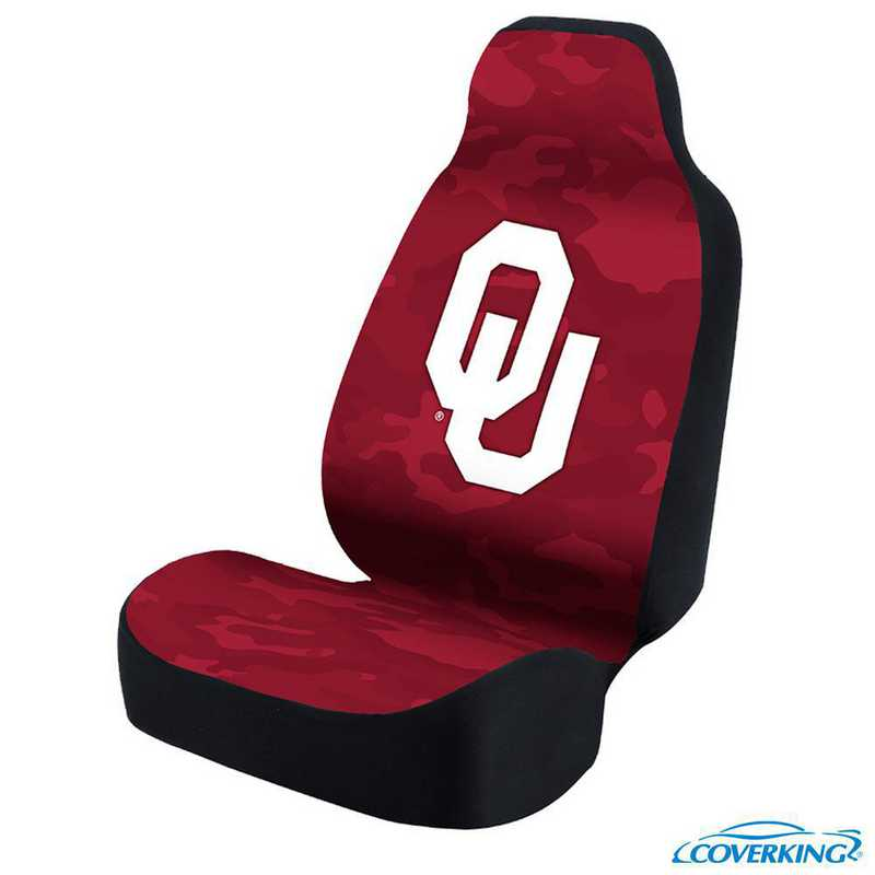 USCSELA124: Universal Seat Cover for Oklahoma University