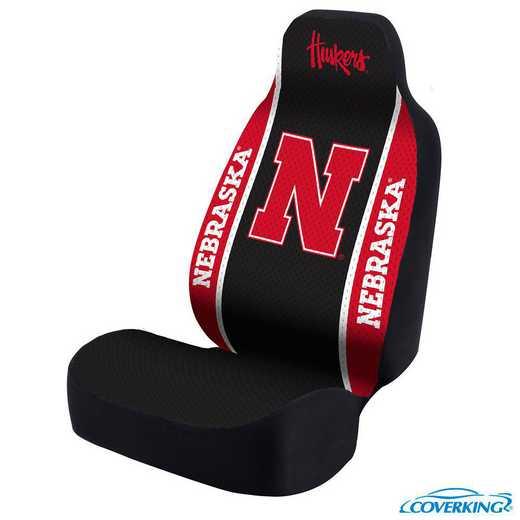 USCSELA186: Universal Seat Cover for Nebraska - Lincoln Nebraska