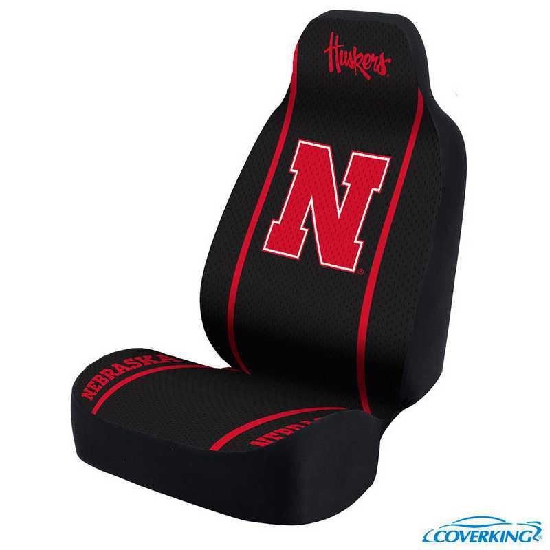 USCSELA187: Universal Seat Cover for Nebraska - Lincoln Nebraska
