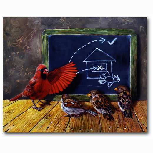 WEB-MV270-16x20: Flight School , 16x20