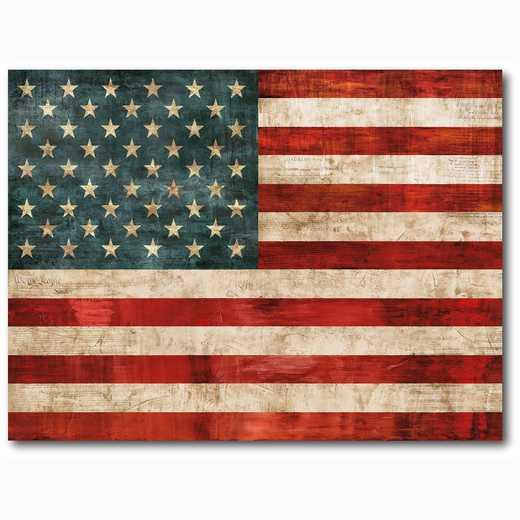 WEB-AF119-18x24: American Flag, 18x24