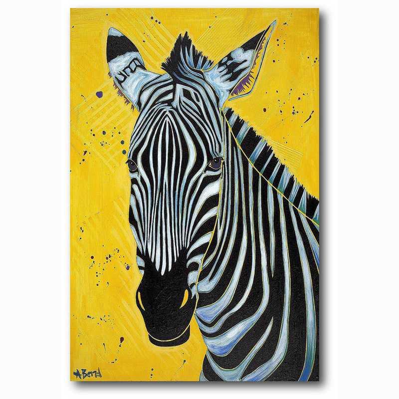 WEB-MV330-12x18: Zebra , 12x18