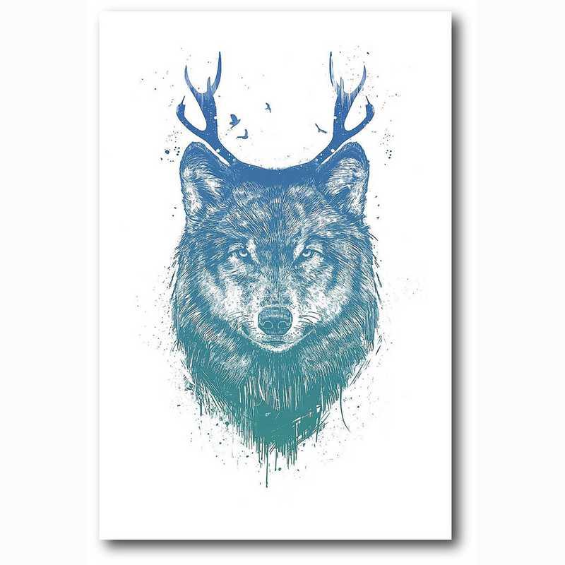 WEB-MV345-12x18: I'm Your Deer , 12x18