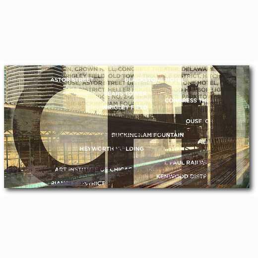 WEB-ST176-12x24: CHI (Chicago) , 12x24