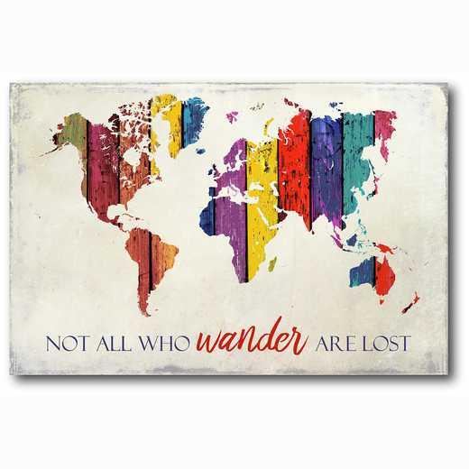 WEB-T831-12x18: Wander , 12x18