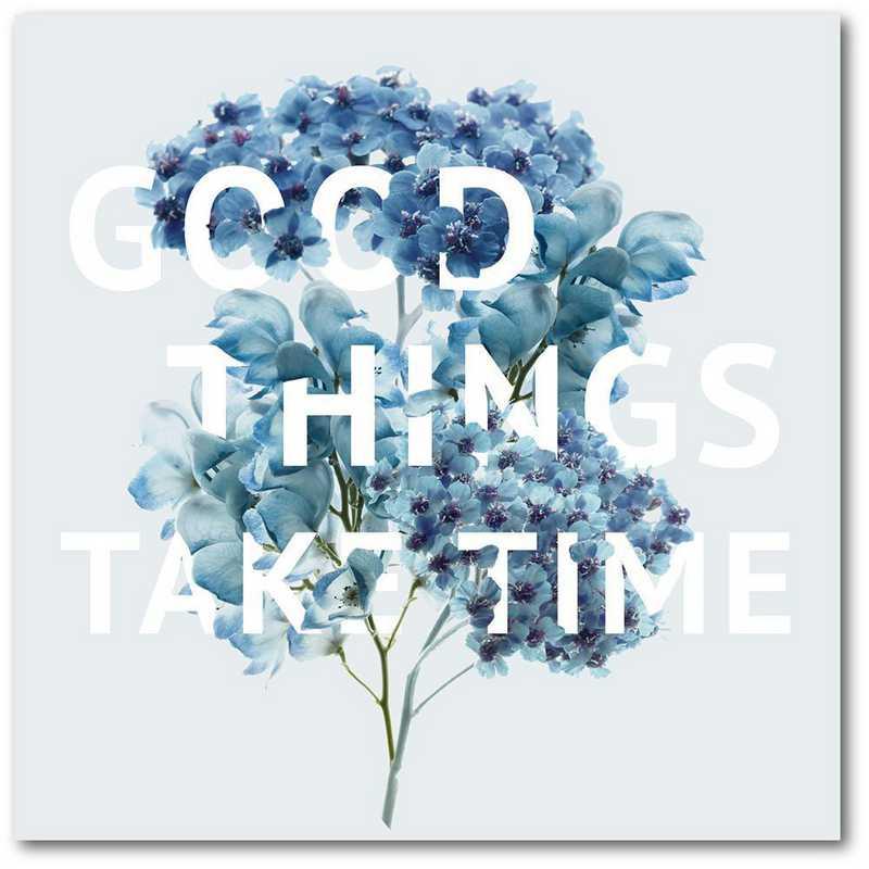 WEB-T978-16x16: CM Good Things  Wall Art- 16