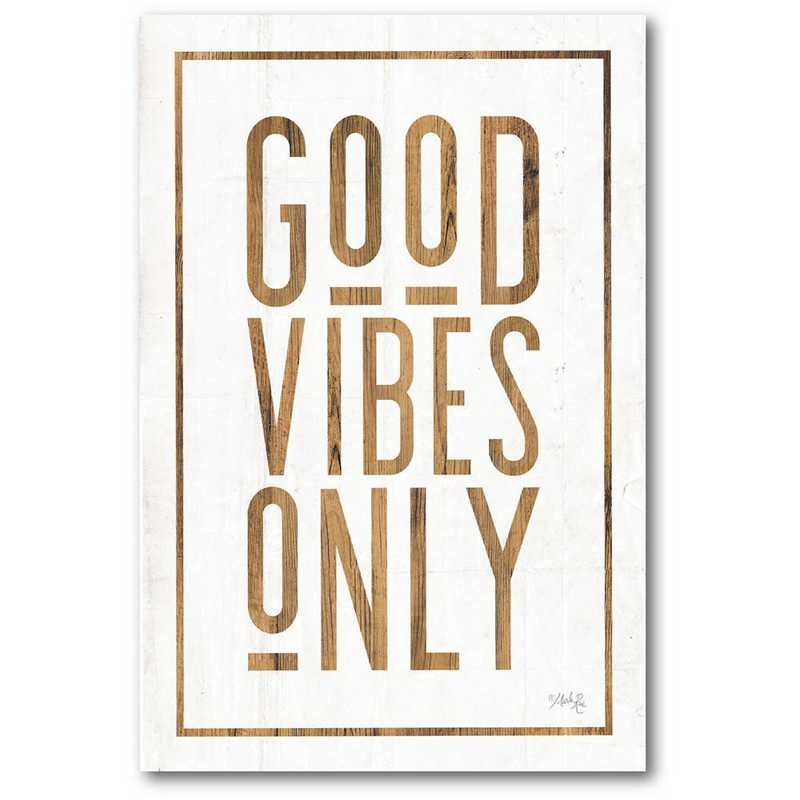 WEB-T990-12x18: CM Good Vibe  Wall Art- 12