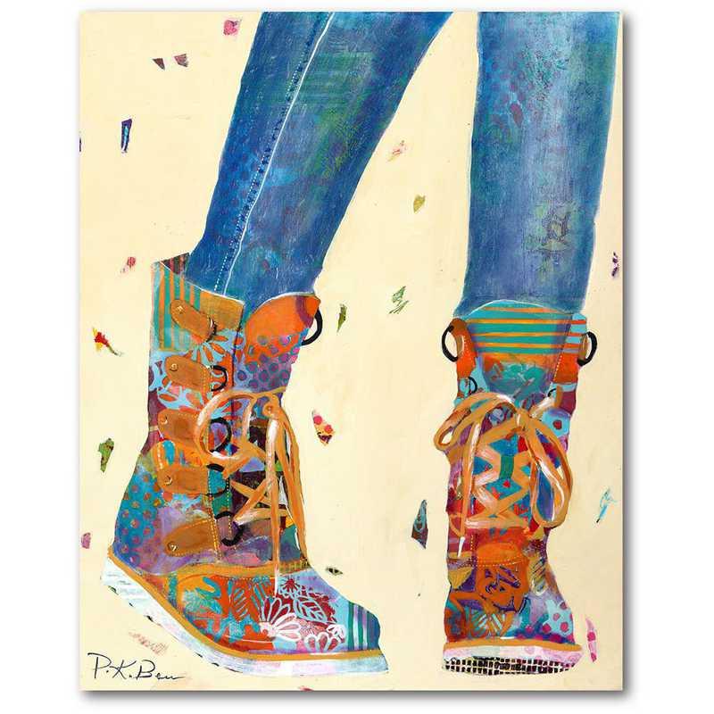WEB-TS300-16x20: CM Dancing  Wall Art- 16