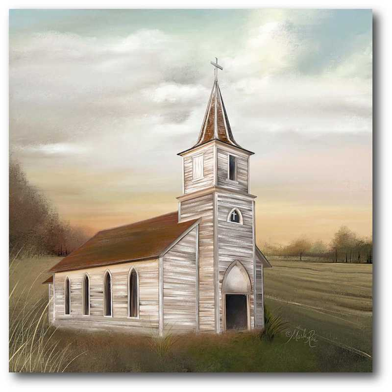 WEB-FF1466-20x20: CM God's House Canvas  - 20x20