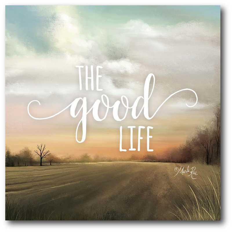 WEB-FF1470-20x20: CM The Good Life Canvas  - 20x20