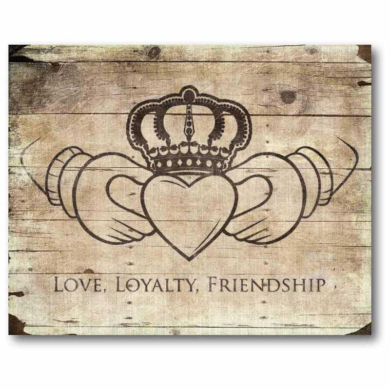 WEB-IR131-30x40: CS Love- Loyaily- Freindship 30