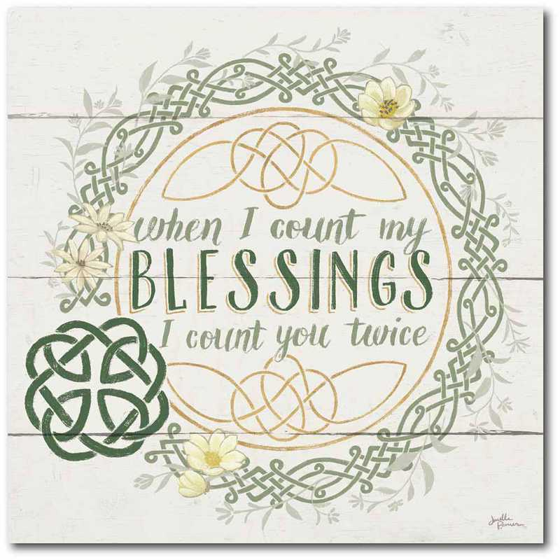 WEB-IR151-16x16: CM Irish Blessing II  Canvas  - 16x16