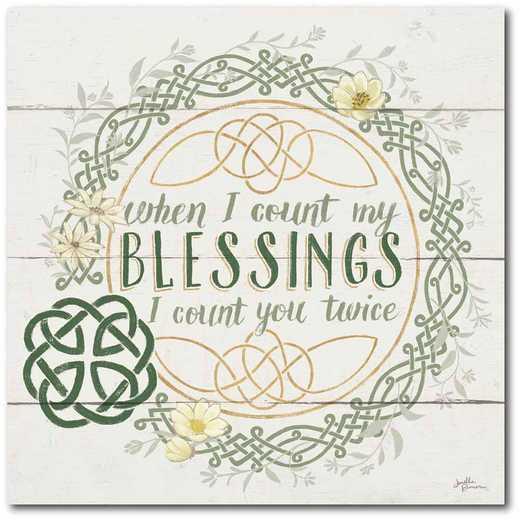 """WEB-IR151-30x30: CS Irish Blessing II 30""""x30"""""""