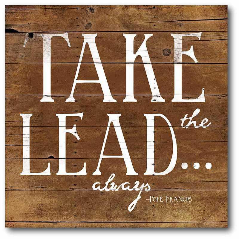 WEB-T454-16x16: CM Take the lead  Canvas  - 16x16