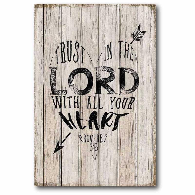 WEB-T756-24x36: CS Trust In The Lord 24
