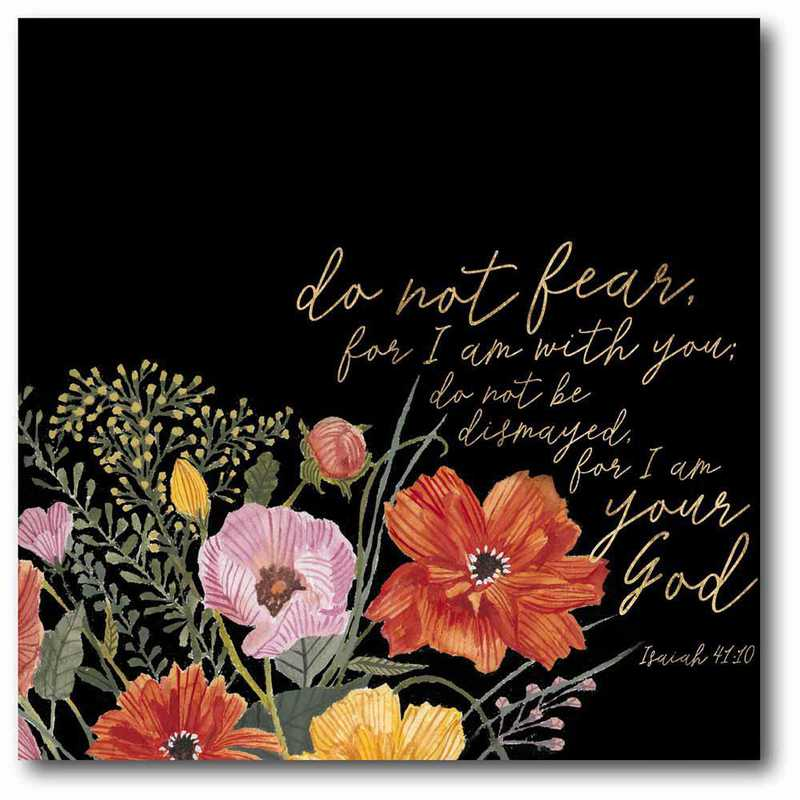 WEB-T801-16x16: CM Floral Faith III  Canvas  - 16x16