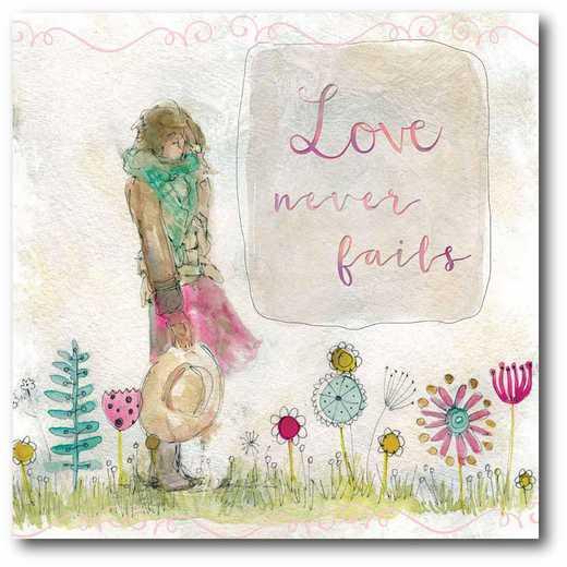 WEB-T833-16x16: CM Sketchbook Love  Canvas  - 16x16