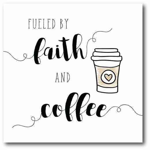 WEB-T835-16x16: CM Faith and Coffee  Canvas  - 16x16