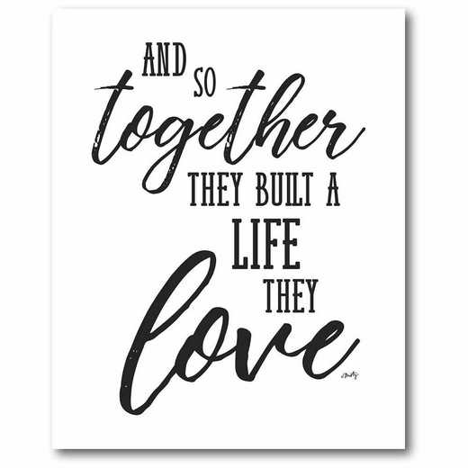 WEB-T925-16x20: CM Together with love  Canvas  - 16x20