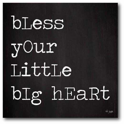 WEB-T931-16x16: CM Bless your little heart  Canvas  - 16x16