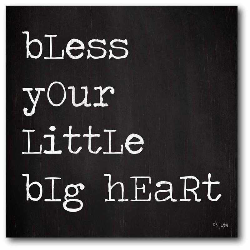 WEB-T931-20x20: CS Bless your little heart 20