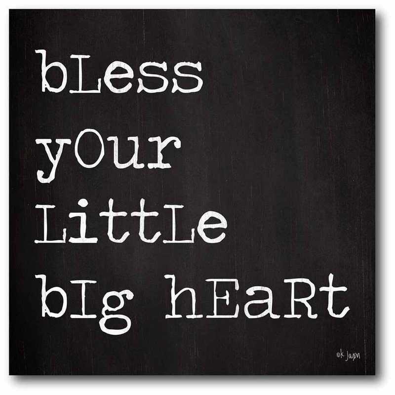 WEB-T931-24x24: CS Bless your little heart 24