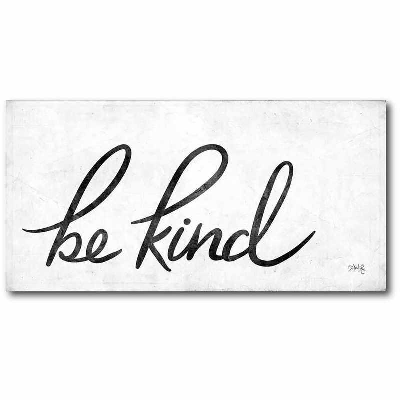 WEB-T938-12x24: CM Be kind  Canvas  - 12x24