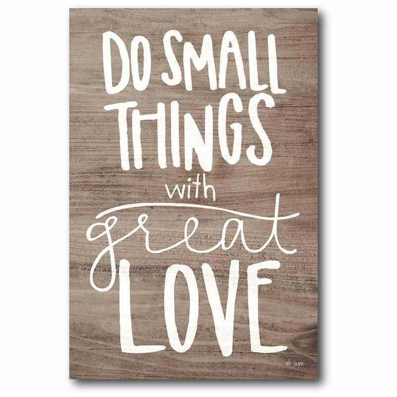 WEB-T944-24x36: CS Do Small things 24