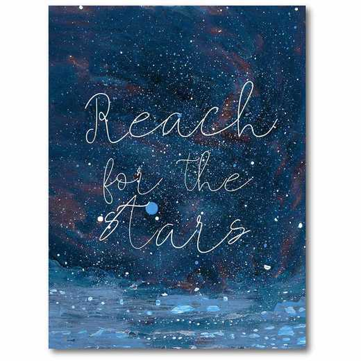 WEB-T945-18x24: CM Reach for the stars  Canvas  - 18x24