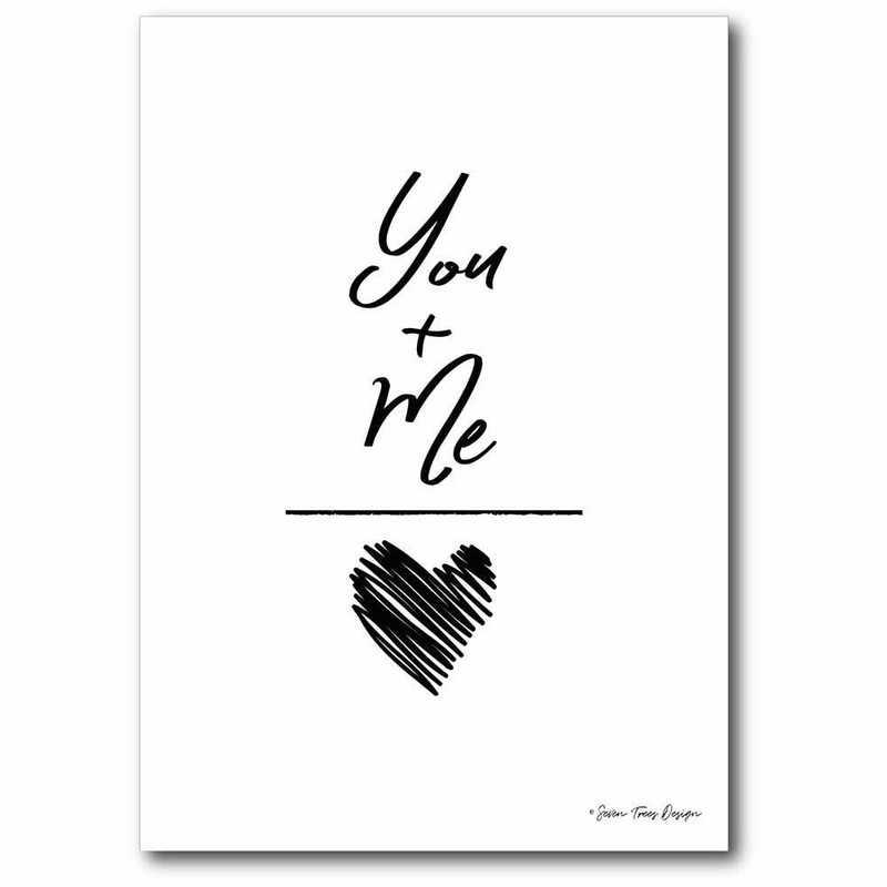 WEB-T9473-12x18: CM You & Me  Canvas  - 12x18