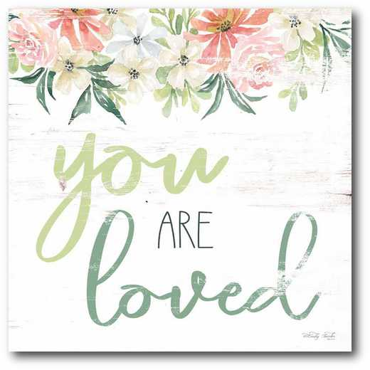 WEB-T9479-16x16: CM You are Loved  Canvas  - 16x16