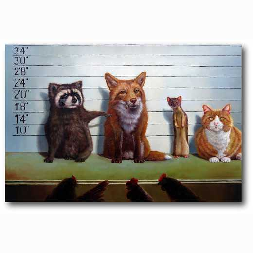 WEB-MV265-12x18:  Usual Suspects , 12x18