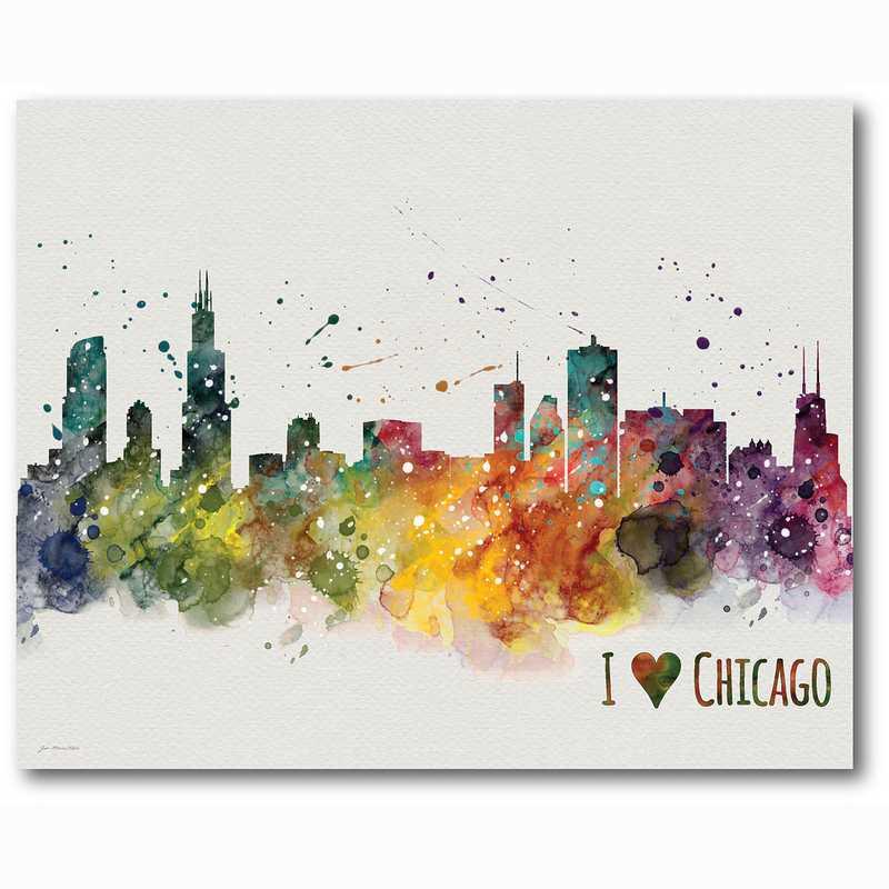 WEB-TS194-16x20:  Chicago , 16x20