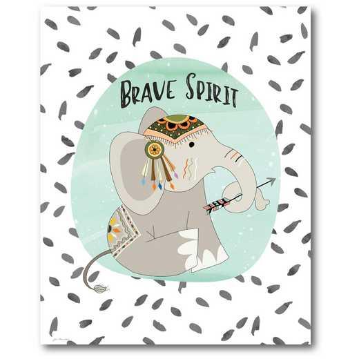 WEB-TS203-16x20: Brave Elephant , 16x20
