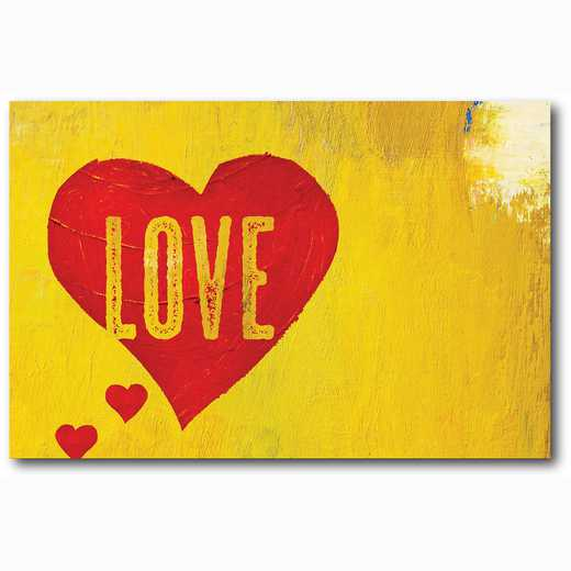 WEB-TS131-12x18: Love Hearts, 12x18