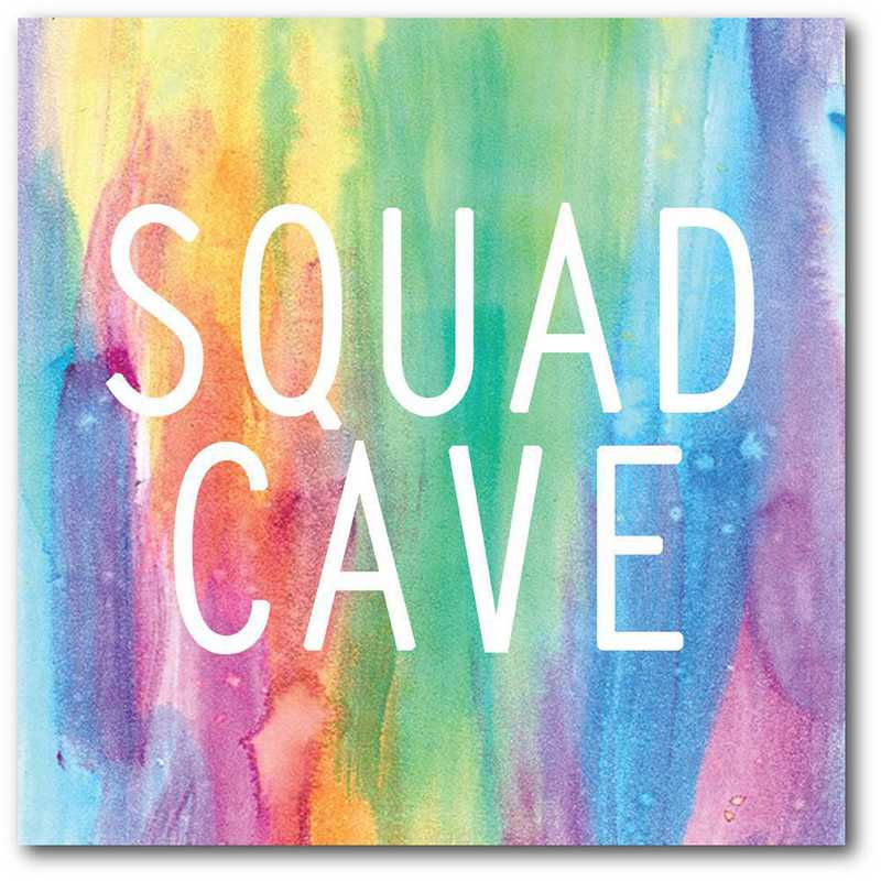 WEB-TS386-16x16: CS Squad Cave  Canvas 16