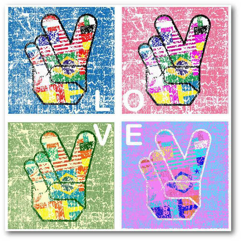 WEB-TS391-16x16: CS Love  Canvas 16