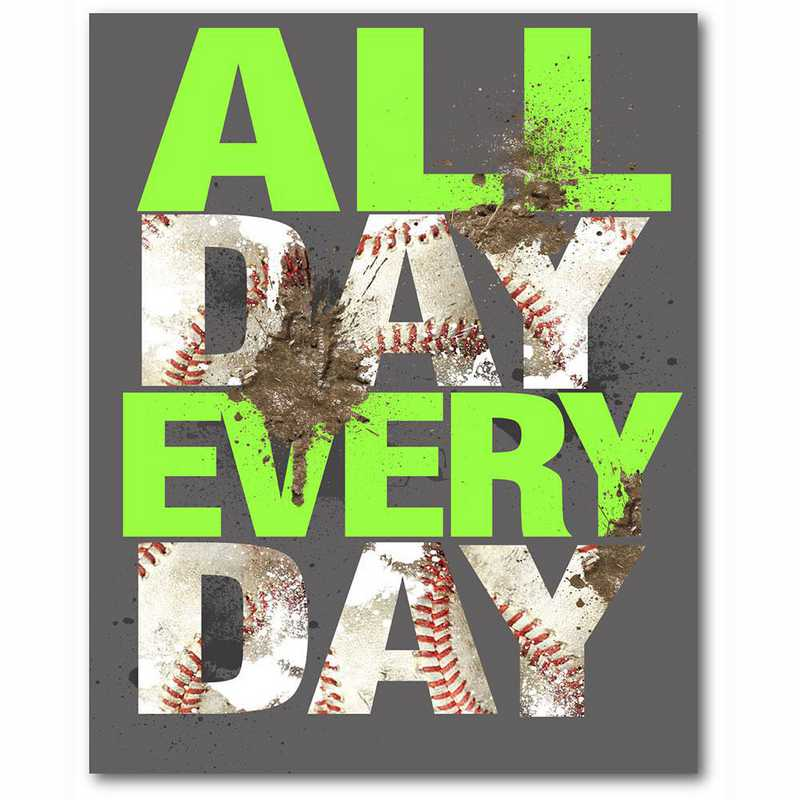 WEB-TS395-16x20: CS All Day Every Day  Canvas 16
