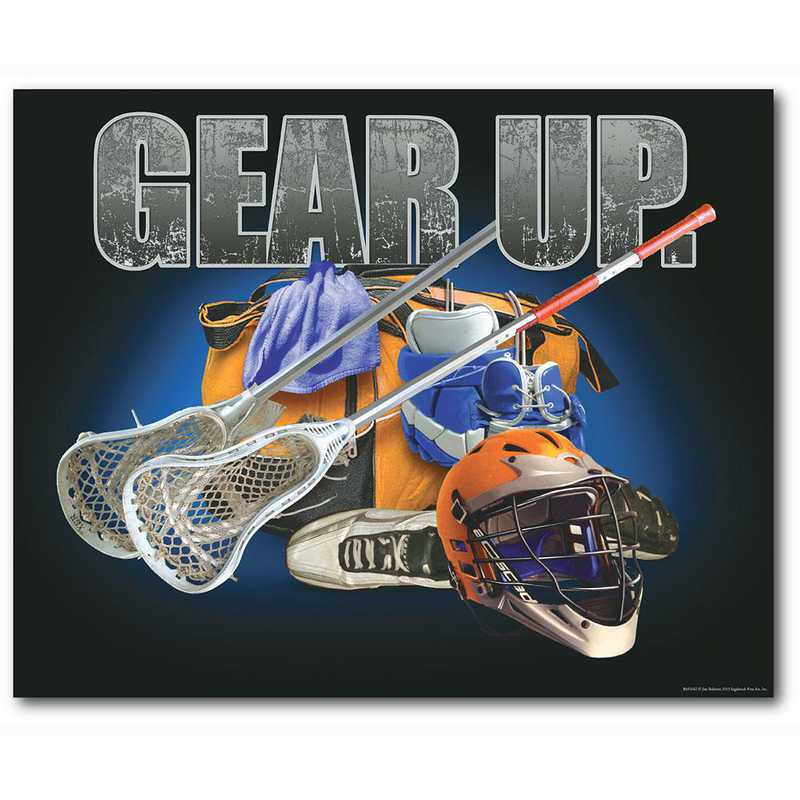 WEB-TS407-16x20: CS Gear Up Lacrosse  Canvas 16